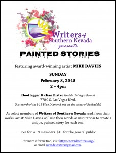 Painted Stories Flier