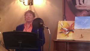 Diane Taylor reading at Painted Stories