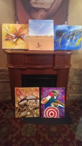 Final Five MD Paintings